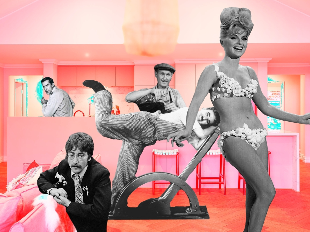"image of the collage entitled ""Night club so dada"""