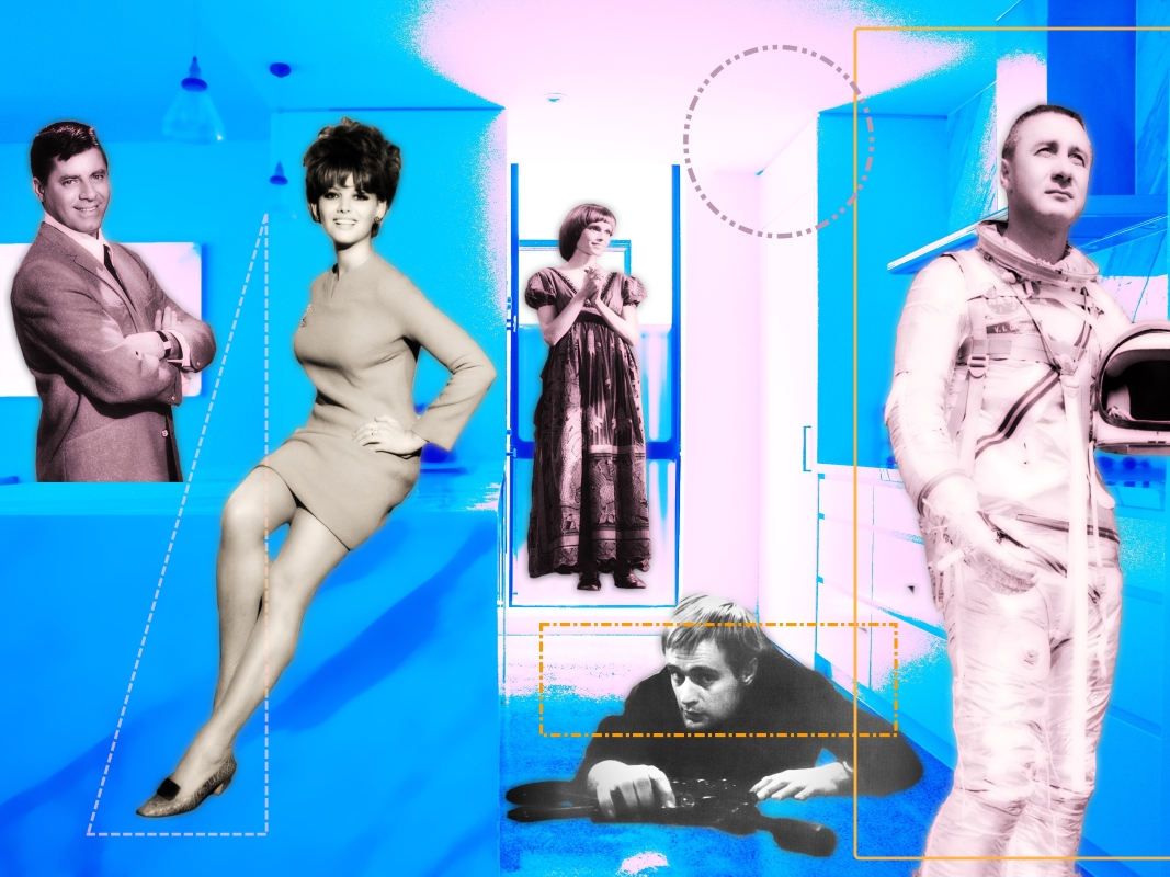 "image of the collage entitled ""The expectations of the 60s"""