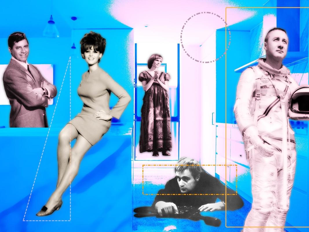 """image du collage intitulé """"Les attentes des années 60"""""""