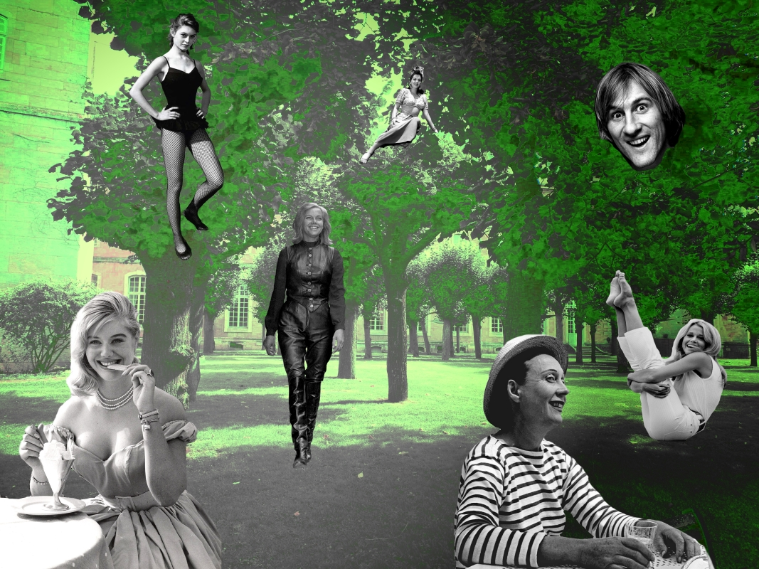 """image du collage intitulé """"Le parc de la bonne humeur"""""""
