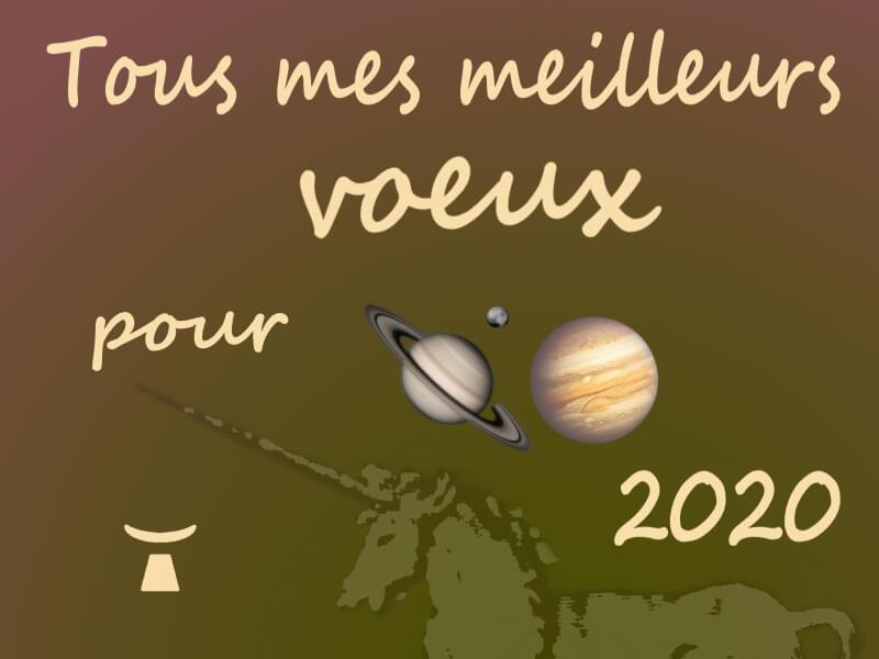 image de la carte de voeux pour l'année 2020 réalisée par Jean Toba